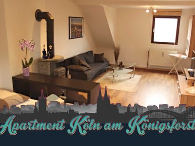 Photo for 2 bedrooms, sleeps 4, fully equipped kitchen, modern bathroom, large roof terrace (20 sqm). - Apartment Cologne am Königsforst