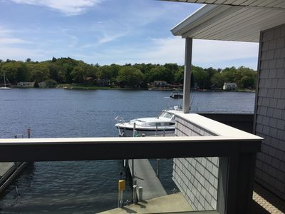 Photo for Pentwater Condo with beautiful views right on the Lake