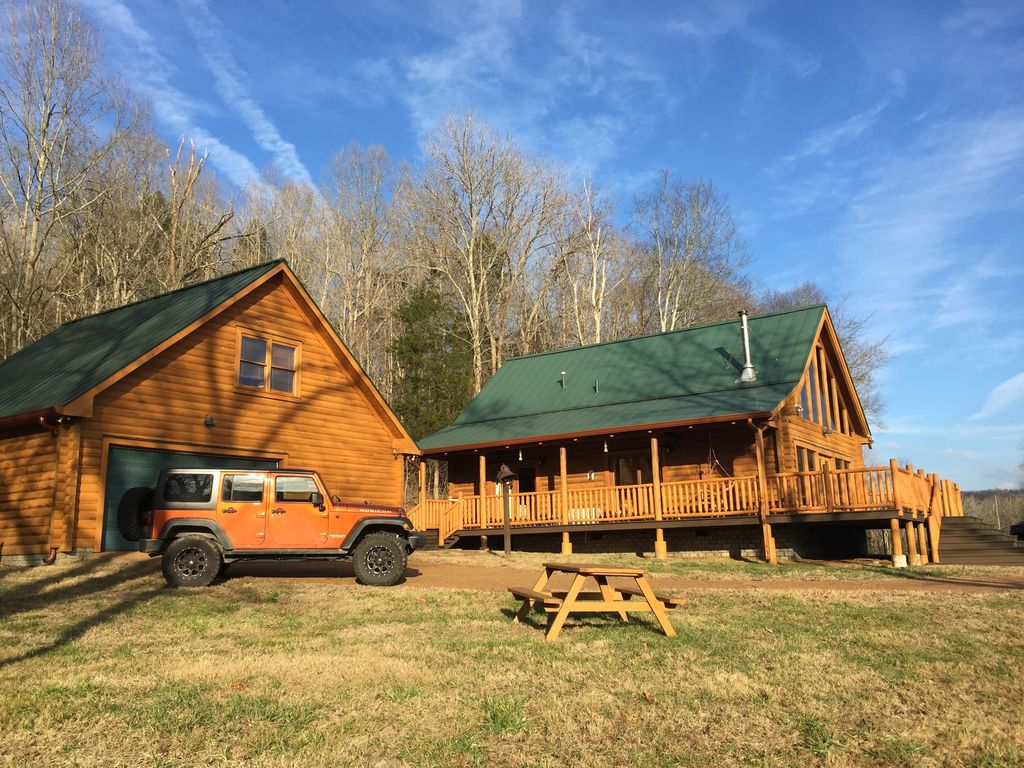 The Real Deal Beautiful Log Cabin In Leiper 39 S Fork