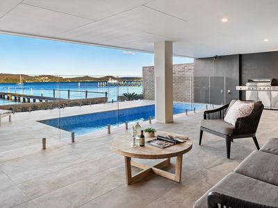 Photo for Clare De Lune Waterfront - Architecturally Designed Luxury Waterfront Townhouse with Pool