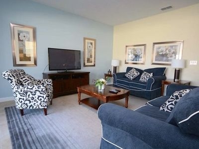Photo for Just 5 minutes to Disney and all of the amenities of a 5 star hotel! This 3,014 sq feet vacation ren
