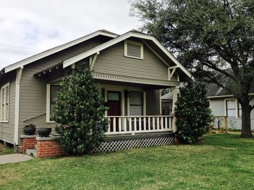 Quaint Houston Heights Bungalow