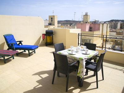 Photo for Modern Penthouse 2 Mins From The Sea-Central Bugibba(BBQ+Fully A/C+Free Wifi)