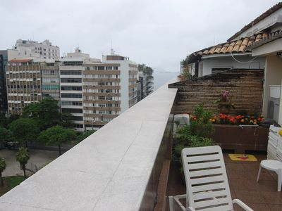 Photo for Beautiful Penthouse with Balcony and Barbecue in Ipanema!