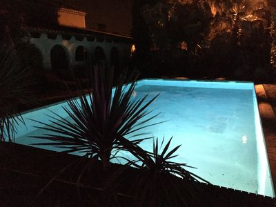 Photo for Duplex apartment close to Montpellier and the sea, with swimming pool and spa