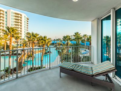 Photo for Lagoon Pool VIEWS ☀Inspected & Disinfected☀ FAB Palms Resort 2315 Full 2BR