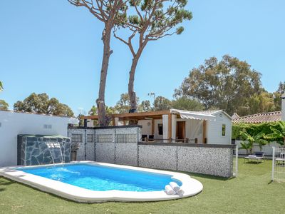 """Photo for Charming Holiday home """"El Jardín del Edén Norte"""" with Wi-Fi, Terrace, Garden and Pool; Parking Available"""