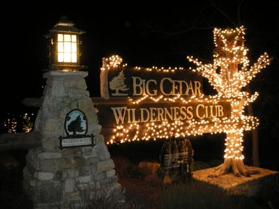 Photo for 2BR Cabin - Wilderness Club at Big Cedar - Thanksgiving/Christmas/New Years Eve