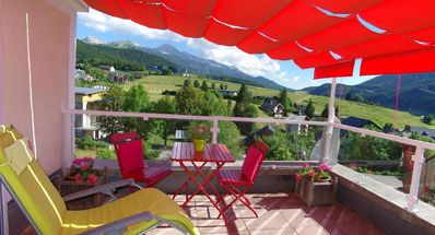Photo for Very nice apartment, 4 stars, in quiet residence in Villard