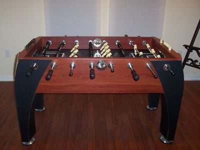 soccer table in third bedroom