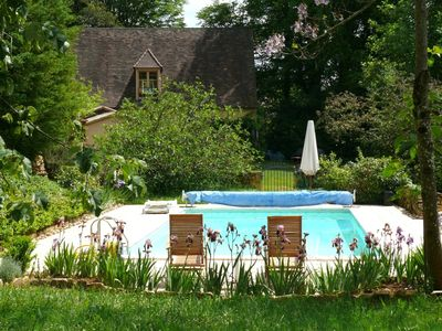 Photo for Cottage with pool, very quiet, close to Burgen & prehistorical caves