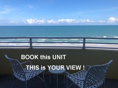 Photo for Ocean Walk Resort 1605 Awesome Ocean Front Condo