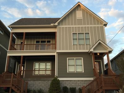Brand New Luxury 3 Story Home with Downtown Nashville Skyline Views