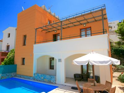 Photo for Villa Odysseus with private swimming pool, free wi-fi, panoramic views