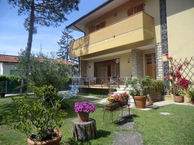 Photo for Villa Gloria, garden and large terrace 300m from the sea