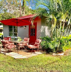 Photo for Downtown Tropical Cottage by Dangela's ,15 minutes to Siesta Key Beach.