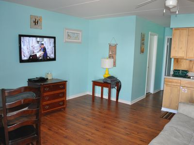 Photo for IDEAL LOCATION !! Clean & Cozy 1 BR+Living Rm Suite - Steps from the beach
