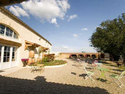 Photo for 6BR Mas Vacation Rental in Rauzan, Nouvelle-Aquitaine