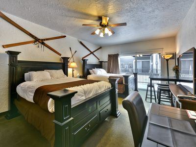 Photo for Beautiful Studio Condo - Sleeps 4 - Close to Ski!