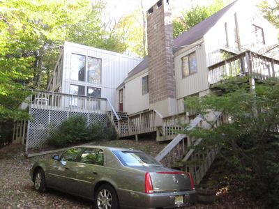 Photo for Walk to Mount Snow  - 6 Bedroom Chalet With Hot Tub and Sauna