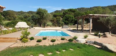 Photo for Charming villa of good quality, maquis sea with swimming pool jacuzzi of 4 bedrooms