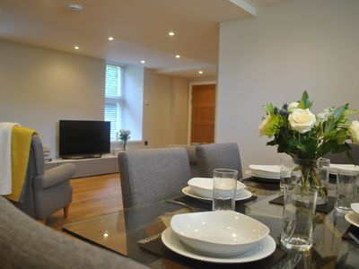 Photo for Luxury City Apartment with Concierge, Parking, Gym