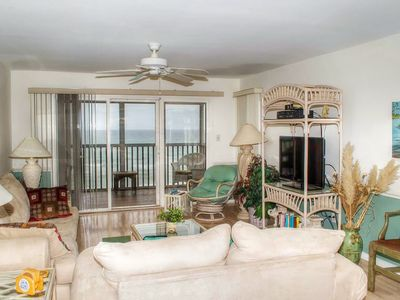 Photo for 2BR Oceanfront Condo with King Bed, Elevator and WiFi!