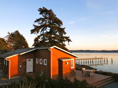 Photo for Sandpiper Haven: Fabulous Waterfront Beach House-VIEWS, Kayaks, Famous Penn Cove