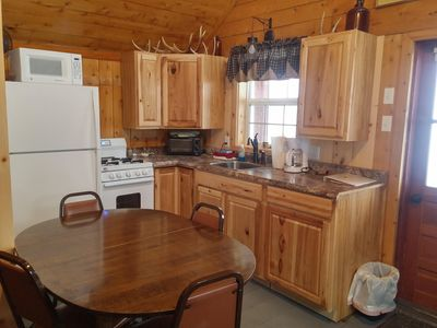 Photo for 3BR Cabin Vacation Rental in Rockwood, Maine