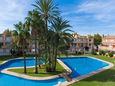Photo for Duplex Arenal Park II, Bright with AC, Wifi, Terrace and Pool