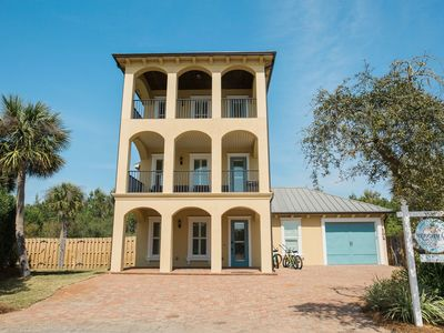 Photo for Lazy Days - Gulf Views - Large Private Pool - Deeded Beach - Free WiFi