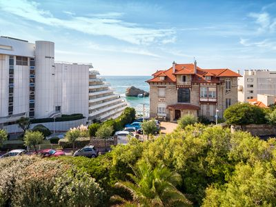 Photo for APARTMENT FACE OCEAN, BEACH OF THE MIRAMAR A FEW METERS FROM THE VILLA ...