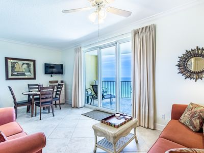 Photo for ☀Beach Front@Twin Palms 1403☀1BR/2BA-Pool&Hot Tub- Aug 4 to 6 $663 Total!