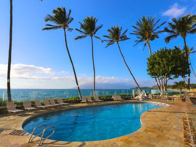Photo for OCEANFRONT*MODERN DELUXE Ocean View by Maui's best beaches
