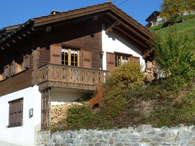 Photo for The rustic cottage on the sunny hillside