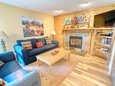 Photo for Remodeled, Pet Friendly Condo located across from the Ski Base Area!
