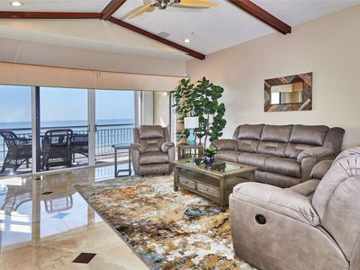 Photo for Private Luxury Beachfront Townhome, Boat Ramp access, HTD Pool