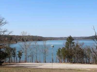Photo for New Lakefront Retreat - Gentle Slope to Water - Sleeps 18 - 2 Waterfront Porches