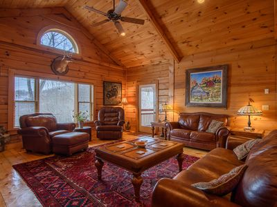 Photo for 3BR, Big Views, Hot Tub, Pool Table, Master on Main, Front of Beech Mountain, Minutes to Banner Elk