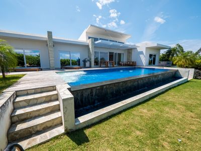 Photo for Casa Hacienda in Puerta Plata, with a private infinity pool! (Caribbean Casas)