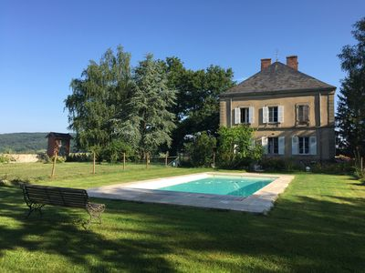 Photo for Charming house in Southern Burgundy, countryside, swimming pool