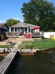 Photo for Lakefront Cottage with Spectacular Views