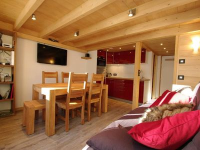 Photo for Gds Montets the slopes Very nice apartment classified 3 *, 4-6 pers, south balcony