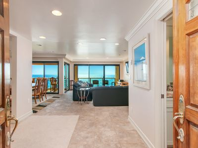 Photo for Amazing White Water Ocean Views from this Mid-level Oceanfront Unit