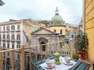 Photo for Toledo  apartment in San Giuseppe with WiFi, private terrace & lift.