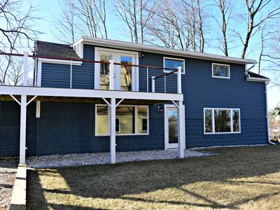 Photo for Fully renovated home overlooking Kennebunk River. Right in the middle of it all!