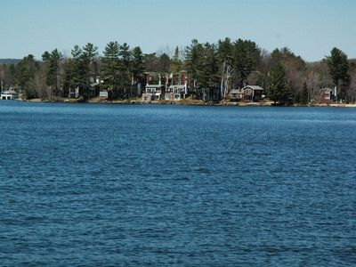 Photo for Private, updated waterfront cottage on Winnipesaukee