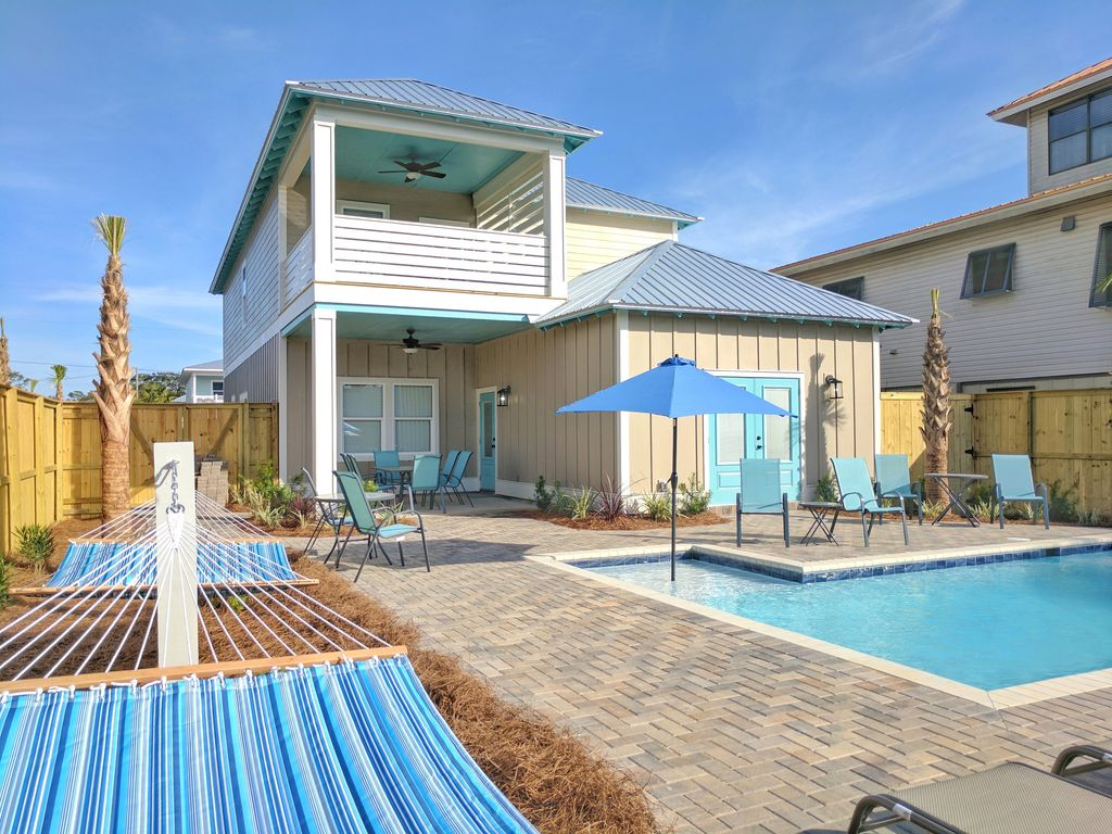 Brand New Luxury Beach Home Private Pool   HomeAway