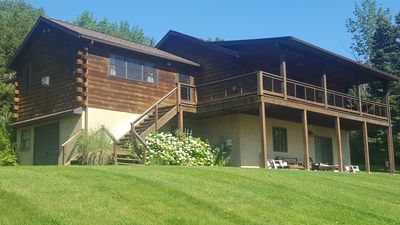 Photo for Overlook Cabin - Keuka Lake View -  Large Hot Tub, Central-Air, Private Setting