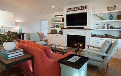 Photo for Gorgeous, NEW, year-round, 3 BR 3BA, custom duplex in the heart of Boothbay Harbor, Maine